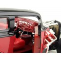 1931 Ford Model A Custom Rojo-Negro 1:18 Lucky Diecast 92849 Cochesdemetal.es