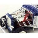 1931 Ford Model A Custom Blanco-Azul 1:18 Lucky Diecast 92849 Cochesdemetal.es