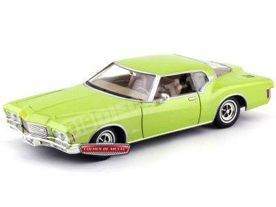 1971 Buick Riviera GS Coupé Green 1:18 Lucky Diecast 92558 Cochesdemetal.es