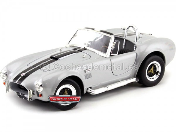 1964 Ford Shelby Cobra 427 S-C Gris 1:18 Lucky Diecast 92058 Cochesdemetal.es