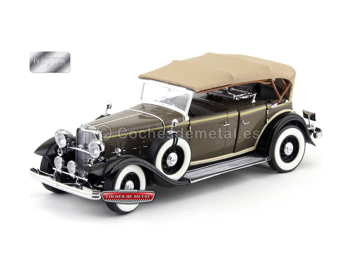 1933 Ford Lincoln KB Top Up Chicle Drab 1:18 Sun Star 6160 Cochesdemetal.es