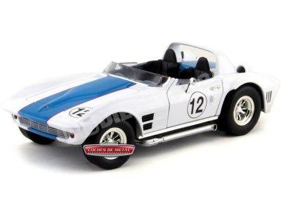 1964 Chevrolet Corvette Grand Sport Roadster #12 White Signature 92698