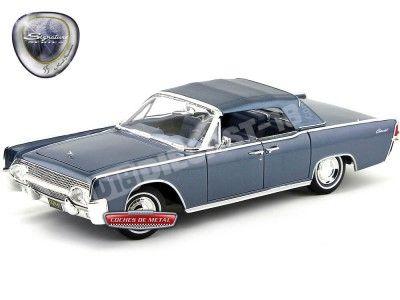 1961 Lincoln Continental Blue 1:18 Lucky Diecast 20088 Cochesdemetal.es
