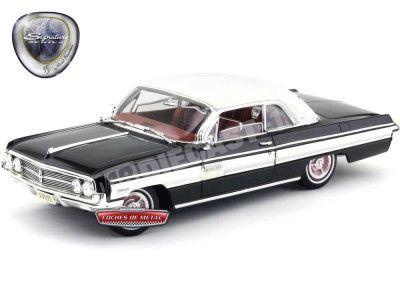 1962 Oldsmobile Starfire Black-White 1:18 Lucky Diecast 20208BK Cochesdemetal.es