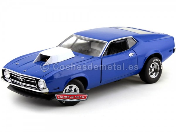 1971 Ford Mustang Pro Stock Drag Car Pastel Blue 1:18 Sun Star 3616 Cochesdemetal.es