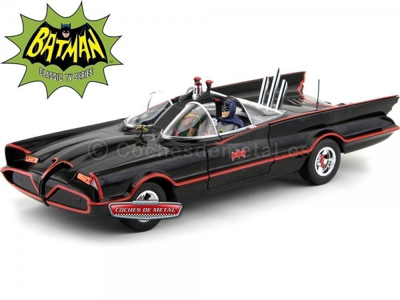"1966 TV Series Batmobile ""Batman y Robin Hot Wheels DJJ39"