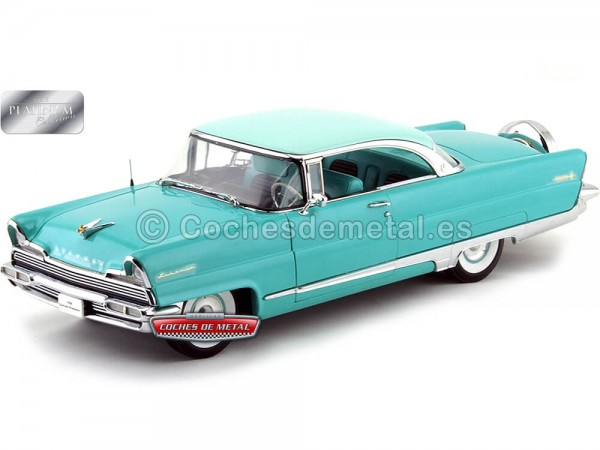 1956 Lincoln Premiere Hard Top Turquoise-Green 1:18 Sun Star 4652 Cochesdemetal.es