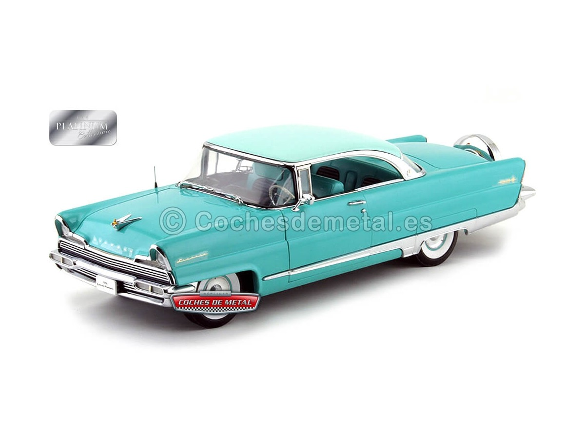 1956 Lincoln Premiere Hard Top Turquoise-Green 1:18 Sun Star 4652 Cochesdemetal.es