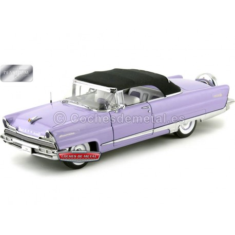 1956 Lincoln Premiere Closed Convertible Wisteria-Black 1:18 Sun Star 4646 Cochesdemetal.es