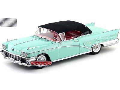 1958 Buick Limited Open Convertible Green Mist Sun Star 4813
