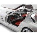2010 Mercedes-Benz SLS AMG Gullwing Gris 1:18 Mondo Motors 50106 Cochesdemetal.es