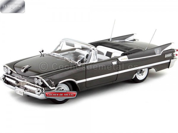 1959 Dodge Custom Royal Lancer Open Convertible Pewter Poly 1:18 Sun Star 5472 Cochesdemetal.es