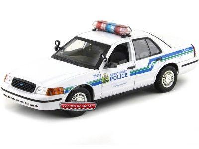 "2001 Ford Crown Victoria Interceptor ""Abbotsford Police"" 1:18 Motor Max 73507 Cochesdemetal.es"