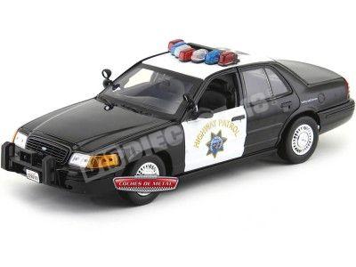 "2001 Ford Crown Victoria Interceptor ""California Highway Patrol"" 1:18 Motor Max 73501 Cochesdemetal.es"