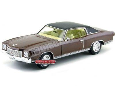 1971 Chevrolet Monte Carlo SS 454 Rosewood Metallic Auto World AMM1055 Cochesdemetal.es