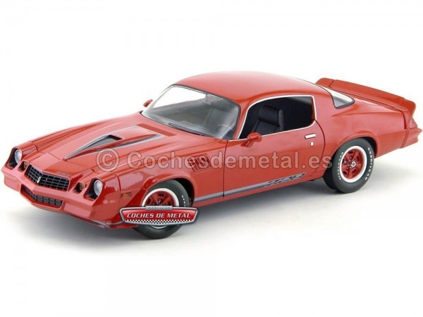 1978 Chevrolet Camaro Z28 Rojo Greenlight Collectibles 12901 Cochesdemetal.es