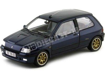 1993 Renault Clio Williams Phase 1 Azul 1:18 Norev 185230 Cochesdemetal.es