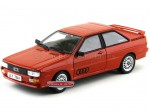 1981 Audi Quattro Coupe Red Metallic Sun Star 4158R