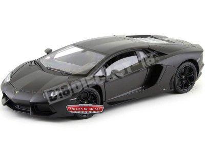 2011 Lamborghini Aventador LP700-4 Nemesis Matt Grey 1:18 Welly 18041 Cochesdemetal.es