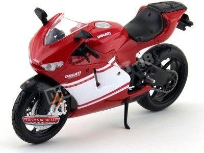 2012 Ducati Desmosedici RR Roja 1:12 Maisto 31190 DU06 Cochesdemetal.es
