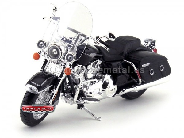 2013 Harley-Davidson FLHRC Road King Classic Negra 1:12 Maisto 32322 HD02 Cochesdemetal.es