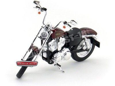 2012 Harley-Davidson XL 1200V Seventy-Two Roja 1:12 Maisto 32320 HD04 Cochesdemetal.es