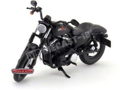 2014 Harley-Davidson Sportster Iron 883 Negra 1:12 Maisto 32326 HD06 Cochesdemetal.es