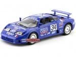 """1994 Bugatti EB110 Super Sport """"#34 Monte Carlo"""" Bburago 11039BL"""