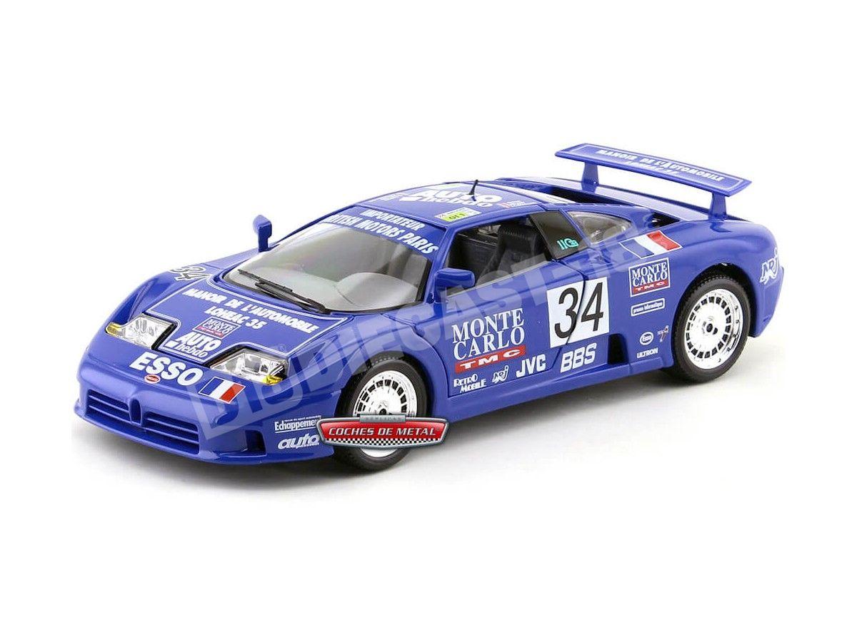 """1994 Bugatti EB110 Super Sport """"Monte Carlo"""" 1:18 Bburago 11039 Cochesdemetal.es"""