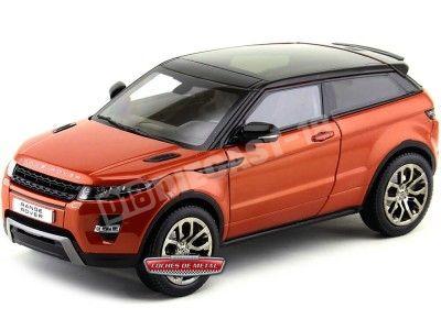 2012 Land Rover Range Rover Evoque Naranja-Negro 1:18 GT Autos 11003 Cochesdemetal.es