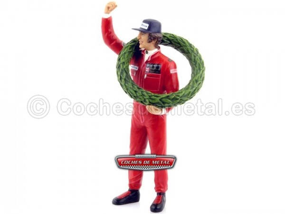 1977 Figura de Resina Mario Andretti Winner GP Francia 1:18 True Scale TSM13AC01 Cochesdemetal.es