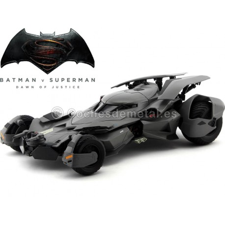 "2016 Batman vs Superman: ""El amanecer de la Justicia"" 1:18 Hot Wheels Elite CMC89 Cochesdemetal.es"