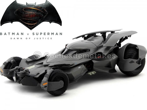 "2016 Batman vs Superman: ""El amanecer de la Justicia"" 1:18 Hot Wheels Elite CMC89"
