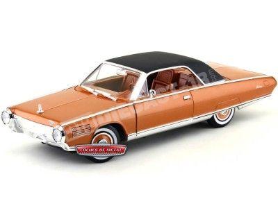 1963 Chrysler Turbine Copper Orange 1:18 Lucky Diecast 92448 Cochesdemetal.es