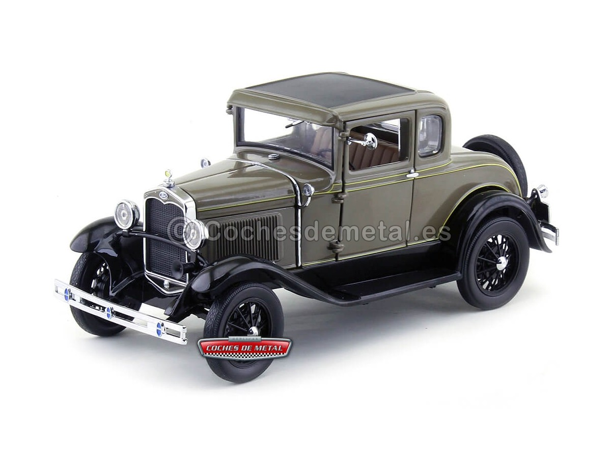 1931 Ford Model A Coupe Chicle Drab 1:18 Sun Star 6132 Cochesdemetal.es