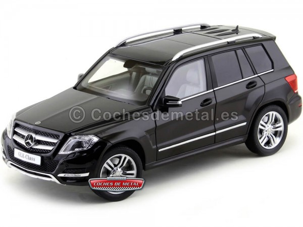 2013 Mercedes-Benz GLK 300 4Matic X166 Metallic Black 1:18 GT Autos 11008 Cochesdemetal.es