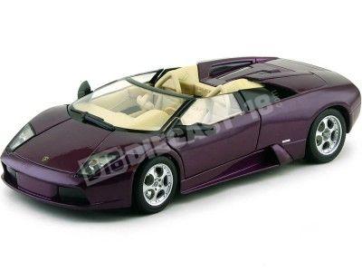 2001 Lamborghini Murcielago Roadster Violeta 1:18 Maisto 31636 Cochesdemetal.es