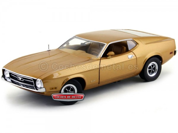 1971 Ford Mustang Sportsroof Medium Brown 1:18 Sun Star 3619 Cochesdemetal.es