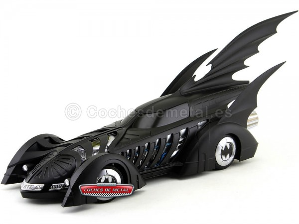 "1995 Batmobile ""Batman Forever"" Negro Mate 1:18 Hot Wheels BLY43"