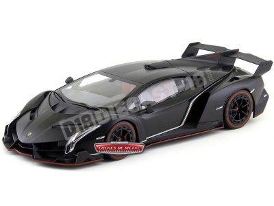 2014 Lamborghini Veneno LP750-4 Negro/Rojo Kyosho 09501MBK