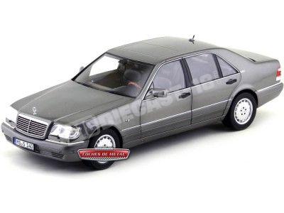 1997 Mercedes-Benz S600 V12 W140 Antracite Grey Metallic Norev 183564 Cochesdemetal.es