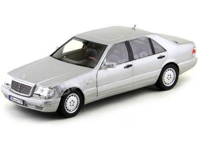 1997 Mercedes-Benz S600 V12 W140 Light Grey Metallic Norev 183563