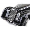 1938 Alfa Romeo 8C 2900 B Lungo Schwarz 1:18 Minichamps 100120421 Cochesdemetal.es
