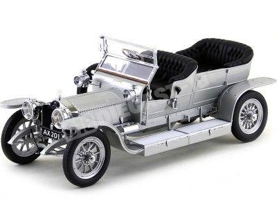 1906 Rolls Royce Silver Ghost Plateado 1:18 NEO Scale Models 18255 Cochesdemetal.es