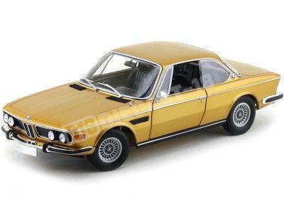 1972 BMW 3.0 CSI E9 Coupe Metallic Gold Minichamps 180029027