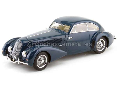 1939 Bentley Embiricos Metallic Blue 1:18 Minichamps 107139821 Cochesdemetal.es