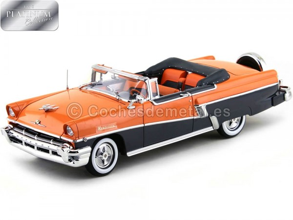 1956 Mercury Montclair Open Convertible With Kit Persimmon-Gray 1:18 Sun Star 5133 Cochesdemetal.es