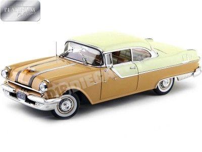 1955 Pontiac Star Chief Hard Top Gray-Tan 1:18 Sun Star 5043 Cochesdemetal.es