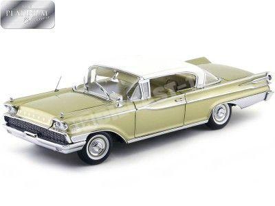 1959 Mercury Park Lane Hard Top White-Golden 1:18 Sun Star 5163 Cochesdemetal.es