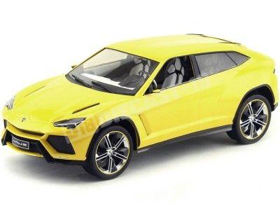 2012 Lamborghini Urus Amarillo 1:18 MC Group 18021 Cochesdemetal.es